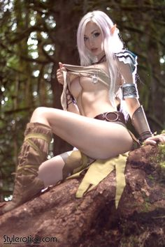 "It's Saturday and you know what that means; an update on SteamGirl.com!The Stylerotica page goes into the woods this week with ""Sindarin Seduction"" featuring Kato as a gorgeous elf traveling through the forest with her trusty bow. We've had fun going over some fictional details this week, but now it's your turn to create the fantasy as you explore these incredible photos. But every great adventure starts with a single step, so make that first step over to ..."