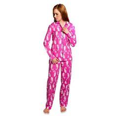 Monterey Women's 2-Piece Pajama Pant Set in Coral Pink - BedBathandBeyond.com