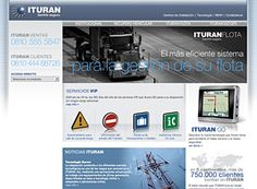 Ituran, sitio corporativo
