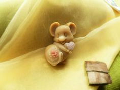 Natural Soap Figurine - Loving Mouse (Rooibos) £5.00