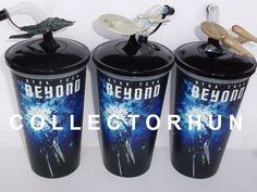 Star Trek Beyond movie cup + topper set Star Trek Beyond Movie, For Stars, Cinema, Movies, Films, Movie Quotes, Movie Theater, Movie