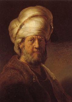 Rembrandt Van Rijn - An Oriental at Rijksmuseum Amsterdam | Flickr - Photo Sharing!