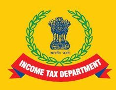 Indian income tax department logo.