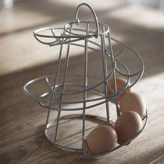 Helter skelter shaped egg rack: Amazon.co.uk: Kitchen & Home