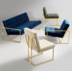 Goldfinger Dining ChairChairs - Goldfinger Dining Chair