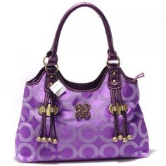 batchwholesale com fashion Michael Kors purses online collection, 2013 top quality fashion Michael Kors purses for cheap Coach Handbags Outlet, Coach Purses, Purses And Handbags, Purple Purse, Purple Bags, Purple Handbags, Purple Love, All Things Purple, Purple Stuff