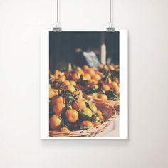 clementine photograph, market, clementine, orange, kitchen wall art, food photography, market, france, french decor, fruit