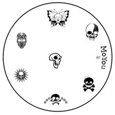 Discover MoYou Nails array of nail stamping image plates with MoYou Nail Fashion. Browse our fabulous styles now with MoYou Nails! Moyou Stamping, Nail Stamping Plates, Art Template, Skull Template, Nail Art Images, Stainless Steel Nails, Image Plate, Nail Art Kit, Nail Plate
