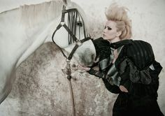 Really? This was the best eq expression they could get?Horses / fashion Unbridled