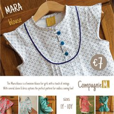 The Mara blouse: pattern release | Compagnie-M