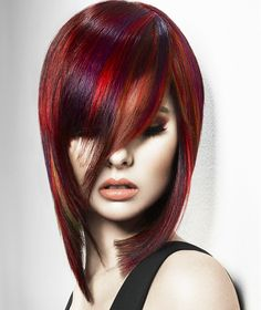 Chad Demchuk Long Red Hairstyles