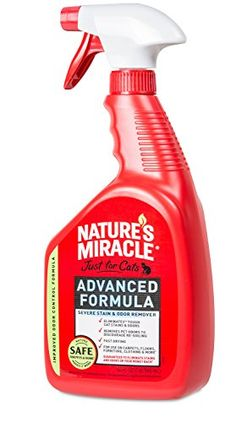 Natures Miracle Just For Cats Advanced Stain and Odor Remover 32 oz ** Details can be found by clicking on the image. This Amazon pins is an affiliate link to Amazon.