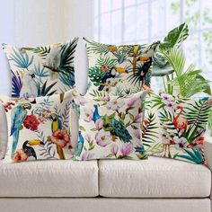 hand-printed-parrot-peacock-home-decor-pillow