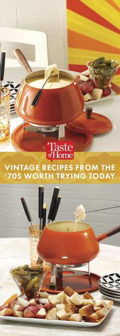 Vintage Recipes From the '70s Worth Trying Today (from Taste of Home)