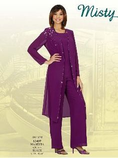 Misty Lane 13497 Formal Evening Pantsuit for a Wedding - Limited Sizes