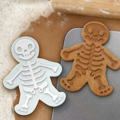 Skull Gingerbread cookie cutters