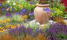 Perennial Combinations, Plant Combinations, Flowerbeds Ideas, Summer Borders…