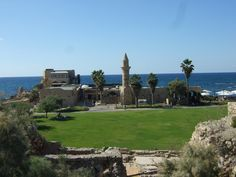 Caesarea National Park - The ancient Caesarea Maritima city and harbor was built by Herod the Great