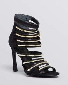 SCHUTZ Sandals - Biatris Caged High Heel