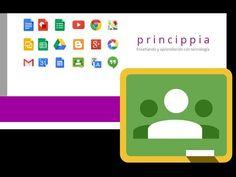 Empieza a usar Google Classroom en 5 pasos - YouTube Google Classroom Tutorial, Flipped Classroom, Classroom App, English Class, Chromebook, Youtube, Education, Words, School
