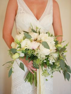 Peony wedding bouquet  by Ella and Louie Floral Studio.