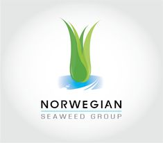Conceptual logo for Norwegian Seaweed Group Seaweed, Portfolio Design, Ocean, Graphic Design, Group, Logos, Portfolio Design Layouts, A Logo, The Ocean