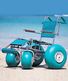 34f43329 For those with special needs everyday wheelchairs are not always suitable  for trips to the beach. Wheeleez have created 'balloon wheels' which  enables you ...