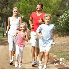 Family Exercise Kids weight loss ideas
