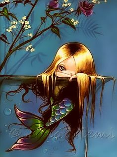 Beautiful mermaids pictures - Hot sexy mermaid pictures posts beautiful mermaid art from many different mermaid artists. Fantasy Mermaids, Unicorns And Mermaids, Real Mermaids, Mermaids And Mermen, Siren Mermaid, Mermaid Fairy, Baby Mermaid, Magical Creatures, Fantasy Creatures