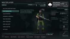 Soldier Game Interface Test by ~Poser96 on deviantART