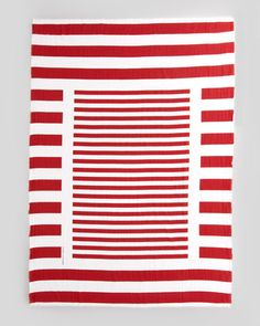 LINEAR THINKING - stripes get a fresh twist with this @Marc Jacobs Intl scarf.