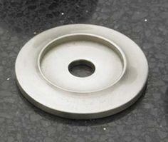 Cliffside Industries Cabinet Hardware Satin Silver Back Plate