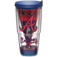 Tervis Atlanta Braves Batter Up Acrylic Tumbler, BRV Team Braves Baseball, Acrylic Tumblers, Atlanta Braves, Gifts, Accessories, Fans, Gift Ideas, Wedding, Jewelry