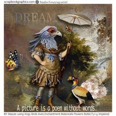 """kits """"Angry Birds"""" , """"Aves"""","""" Impaired background"""","""" Cracked Artist Quotes"""", """"Enchantment"""", """"Butterflying"""", """"Botanicals Flowers"""", """"Picturesque"""" by Foxeysquirrel  http://shop.scrapbookgraphics.com/foxeysquirrel/"""