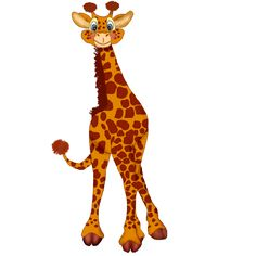 orange giraffe clipart vector graphics 480 orange giraffe eps rh pinterest co uk free giraffe clipart black and white free pink giraffe clipart