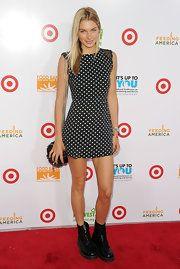 Jessica Hart Print Dress
