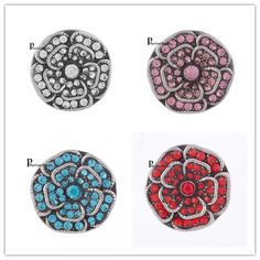 10pcs/lot Hot Sale Trendy 20mm Snaps Button Charms Metal Snaps For Bracelet OEM ODM Styles Button Ginger Snaps Jewelry KB7552