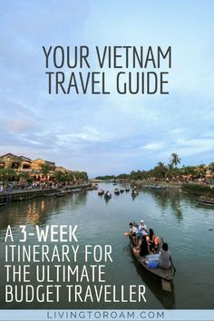 From Hanoi to Ho Chi Minh City, Vietnam is packed full of adventure, incredible food and amazing people. It has over 3000km of coastline and beautiful beaches, mountain treks alongside stunning rice fields and everything in between. We think Vietnam could be the best country to visit in Southeast Asia, how about you? | Vietnam Travel Guide | Living to Roam #vietnamtravel #travelguide