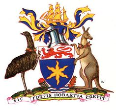 Hobart (Tas., Aus.) coat of arms.