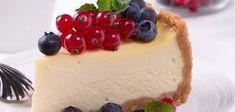 CHEESECAKE S DROBNÝM OVOCÍM | Dezerty | Recepty | FIT štýl Berry Cheesecake, Cheesecake Recipes, Dessert Recipes, Desserts, Dessert Food, Food Cakes, Cheesecakes, Sweet Pie, Vanilla Cake