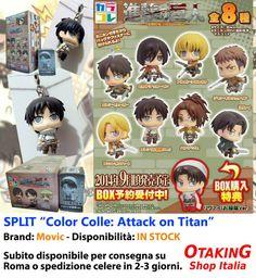 """SPLIT """"Attack on Titan: Color Colle""""! Personaggi singoli in pronta consegna! Per info e per acquistarli clicca qui--> https://www.facebook.com/otakingshopitalia/photos/a.643132709150215.1073741833.643117879151698/658133830983436/?type=3&theater Consegna a mano gratuita o spedizione tracciata!"""