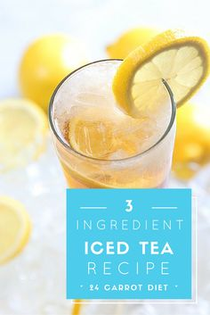 """Make a refreshing """"half and half"""" iced tea from this easy 3-ingredient recipe 
