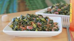 Southern Collard Greens Recipe w/ Smoked Turkey Legs (soul food style) recipe soul food smoked turkey crockpot Southern Collard Greens Recipe- Soul Food Southern Collard Greens, Collard Greens Recipe, Pea Recipes, Cooking Recipes, Easy Cooking, Veggie Recipes, Smoked Turkey Legs, Divas Can Cook, Thing 1