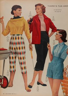 """LOOK EVERYONE!! HOSTESS PANTS! For all you """"I Love Lucy"""" fans out there. 
