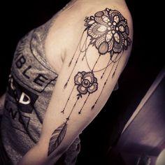 By Miss Voodoo Tattoo !