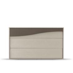 Italian modern designer dresser Wave, L 125 - D 52 - H 74.5 cm at My Italian Living Ltd