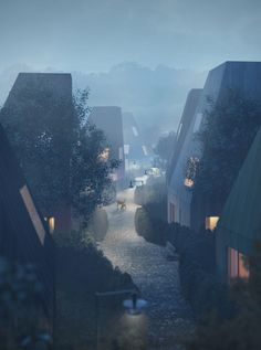 Tham & Videgård unveils plans for timber Vertical Village II in Sweden Green Architecture, Landscape Architecture, Architecture Design, Architecture Panel, Drawing Architecture, Architecture Diagrams, Hisoka Hunter, Architecture Visualization, Timber House