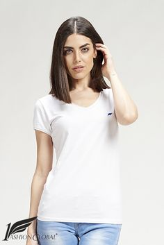 Camiseta basica pico https://www.1fashionglobal.net/cynthiacoulombe/tienda/
