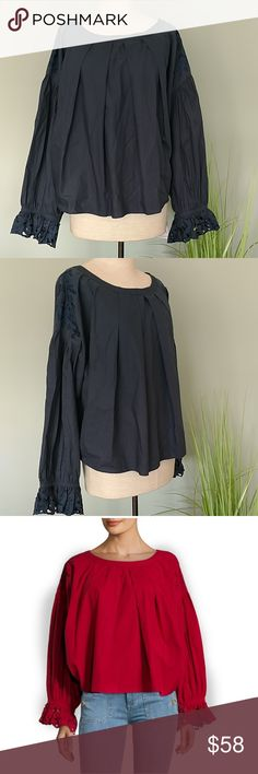 951813c882d NWT! Free People Long Sleeve Embroidered Blouse NWT. Wishing WellEmbroidered  ...