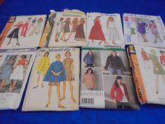 SEWING PATTERNS WOMENS Capes Skirts Dress Jacket by AngieFoundit4U